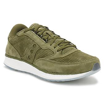 Saucony Green Freedom Runner Trainers