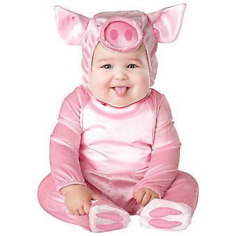 Lil' 貯金箱ピンク豚動物幼児女の子用コスチューム