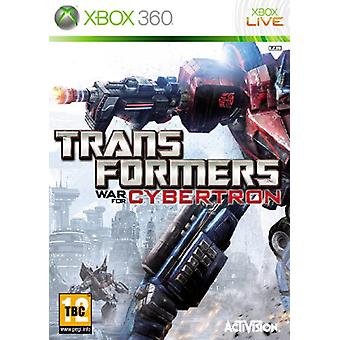 Transformers War for Cybertron (Xbox 360)