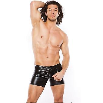 Allure Lingerie AL-33-1072Z Men Wet Look Shorts