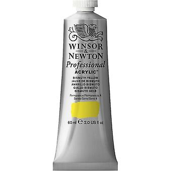 Winsor & Newton Professional Acrylic 60ml - 025 Bismuth Yellow (S4)