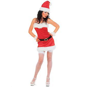 Miss Santa Flannel kostume