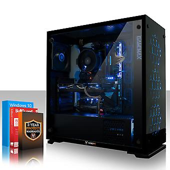 Felle APACHE Gaming PC, snelle Intel Core i5 8500 4.1 GHz, 1 TB HDD, 8 GB RAM, GTX 1050 2 GB