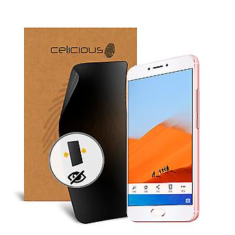 Celicious Privacy 2-Way Anti-Spy Filter Screen Protector Film Compatible with Meizu MX6