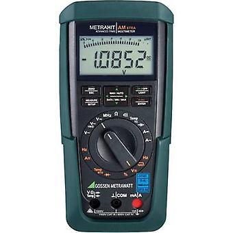 Gossen Metrawatt METRAHIT AM X-TRA Handheld multimeter Calibrated to DAkkS standards Digital CAT III 1000 V, CAT IV 600 V Display (counts): 12000