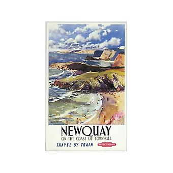 Newquay (oude spoor Ad.) Fridge Magnet