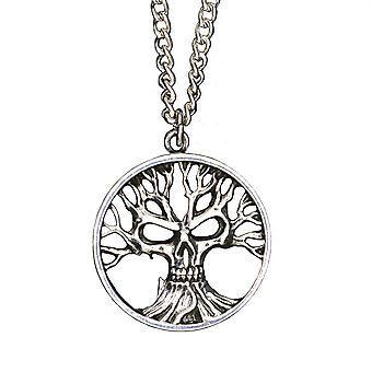 Alchemy Gotik Tree Of Death Pendant