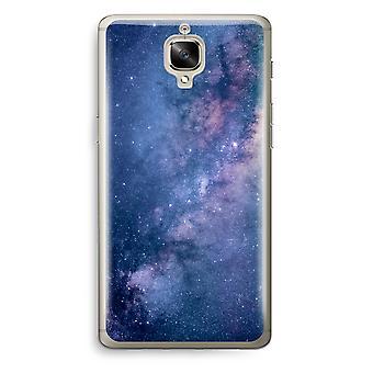 OnePlus 3 Transparent Case (Soft) - Nebula