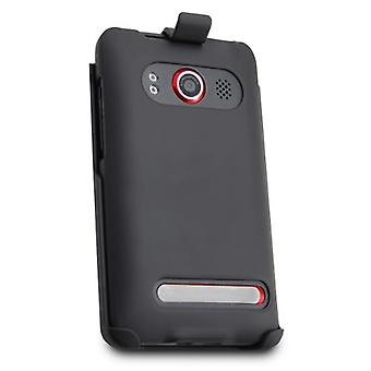 Technocel Holster and Shield Combo for HTC Evo 4G (Black)