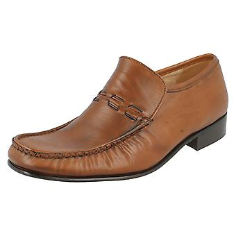 Mens Grenson Moccasin Shoes Nevada
