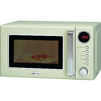Clatronic microwave with grill retro 20 litres MWG 790 color cream