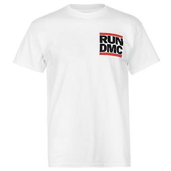 Official Mens Run DMC T Shirt Crew Neck Tee Top Short Sleeve Cotton Regular Fit