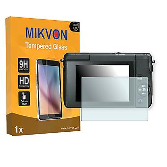 Canon EOS M10 Screen Protector - Mikvon flexible Tempered Glass 9H (Retail Package with accessories)