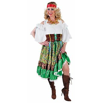Women costumes  Gypsy lady dress up dress