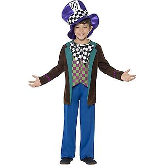 Deluxe Hatter Costume, Small Age 4-6