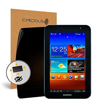 Celicious Privacy Plus 4-Way Anti-Spy Filter Screen Protector Film Compatible with Samsung Galaxy Tab 7.0 Plus