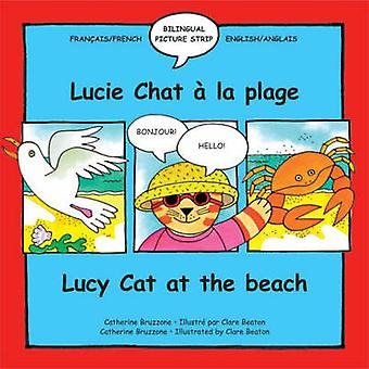 Lucy Cat at the Beach - Lucie Chat a La Plage by Catherine Bruzzone -