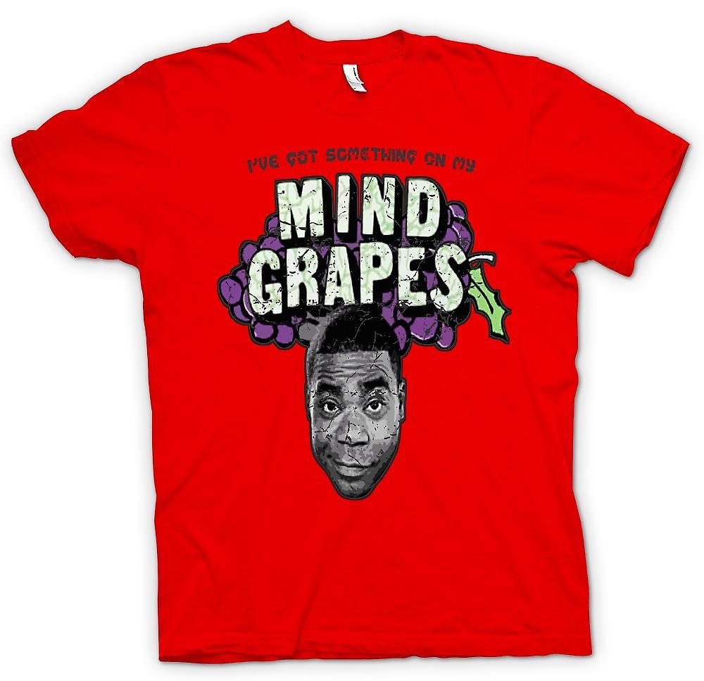 Mens T-shirt - Ive habe etwas auf meinem Verstand-Trauben