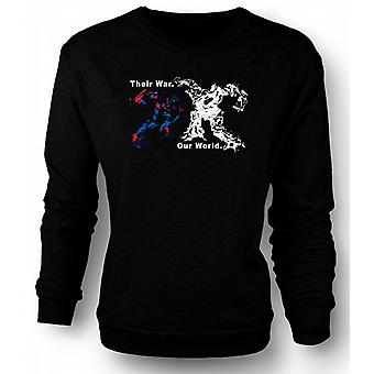 Sweatshirt transformatorer krig - Optimus Prime