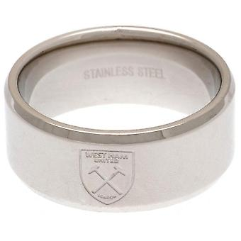 West Ham United FC Band Ring