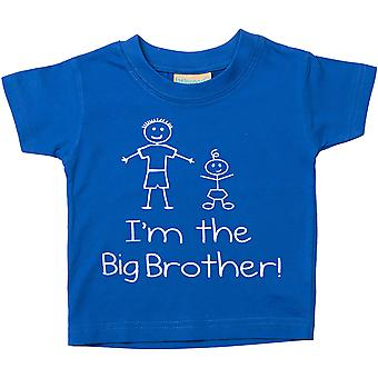 I'm The Big Brother Blue Tshirt