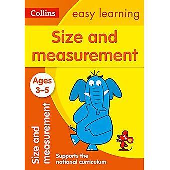 Größe und Messung Alter 3-5: Neuauflage (Collins leichtes Lernen Vorschule)