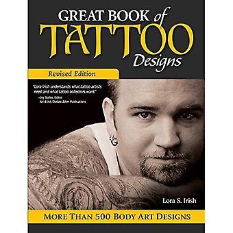 Grote boek van Tattoo Designs, herziene uitgave