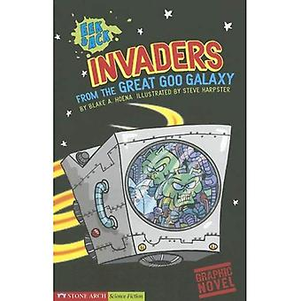 Eek & Ack, Invaders from the Great Goo Galaxy (Graphic Sparks Graphic Novels)