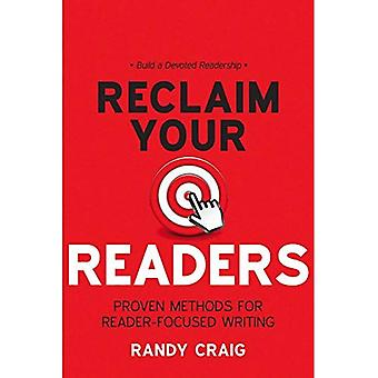 Terugvorderen uw lezers