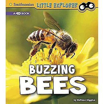 Buzzing Bees: A 4D Book (Little Entomologist 4D)