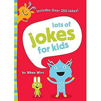 Massor av skämt för barn (barnens humor)