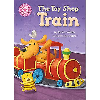 Reading Champion - The Toy Shop Train - Independent Reading Pink 1B by