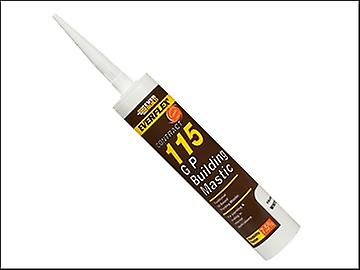 Everbuild 115 General Purpose Building Mastic Brown 310ml
