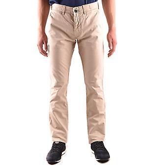 Stone Island Beige Cotton Pants