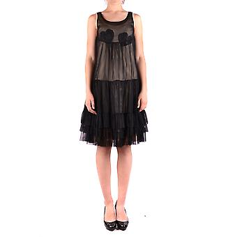 Twin-set svart Polyester klänning