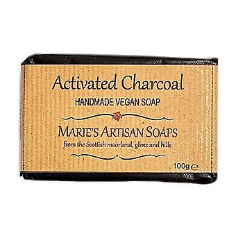 Marie's Artisan Soaps Handmade Vegan Soap 100g - Activated Charcoal