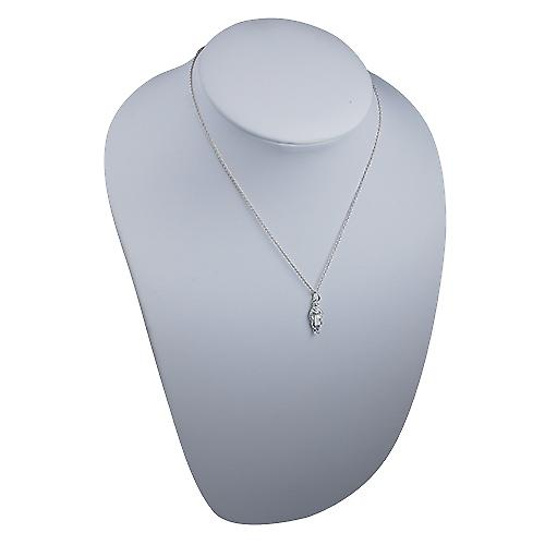 Silver 18x8mm Beefeater Pendant with a rolo Chain 16 inches Only Suitable for Children