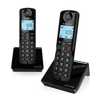 Alcatel S250DUO (2 pz) nero telefono cordless DECT