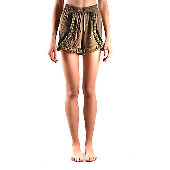 F**k Multicolor Viscose Shorts