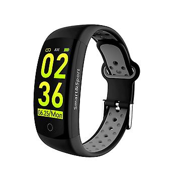 Bracelet d'activité Q6S avec cardiofréquencemètre-noir