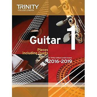 Guitar Exam Pieces Grade 1 2016-2019 by Trinity College London - 9780