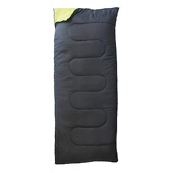 Yellowstone Single Envelope Sleeping Bag 1 Season Black