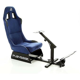 Playseat Racing Fabric High Back Chair (Black Upholstery with Metal Frame) with Headrest