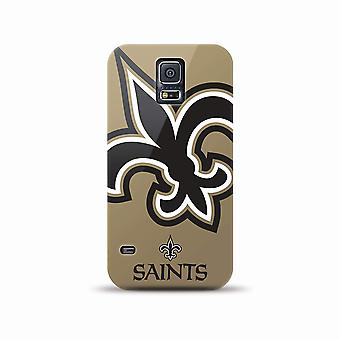 Mizco Sports NFL Oversized Snapback TPU Case for Samsung Galaxy S5 (New Orleans