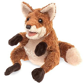 Títeres de mano - Folkmanis - Crafty Fox New Toys Soft Doll Plush 30818