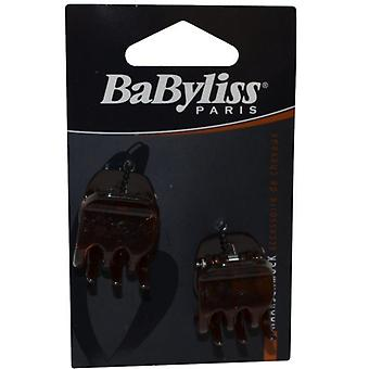Babyliss Claw Clips Pack of 2 Browm