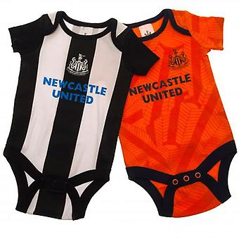 Newcastle United 2 Pack Bodysuit 12/18 mths OR