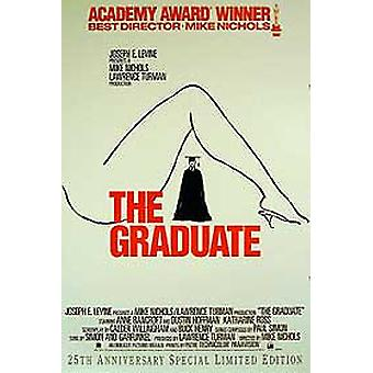 The Graduate (25Th Ann Special Limited Ediition) Original Cinema Poster