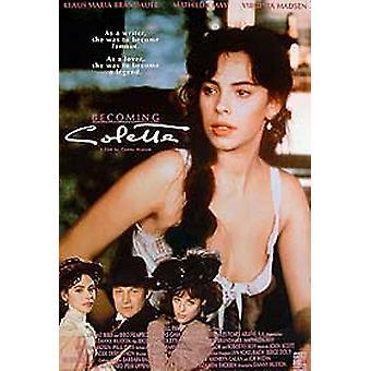 Becoming Colette Original Cinema Poster