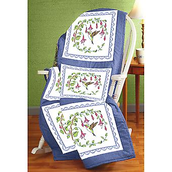 Stamped Cross Stitch Quilt Blocks 18